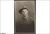 Pte Paul Andrew Pearson White SX8320, 2/43 Bn, KIA 12 Oct 1942 buried El Alamein (taken 1941)