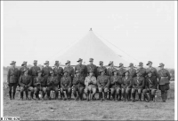 Officers of 10th Bn at Woodside 1938