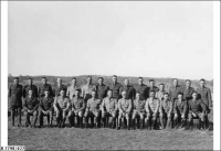Officers of 43/48 Bn at Woodside 1938