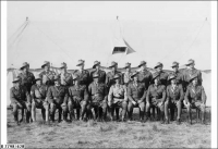 Officers of the 27 Bn in camp at Woodside 1938