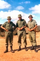 27 RSAR A Coy - Lt Harrison, Capt Phillips, Lt Dunn - El Alamein 1971