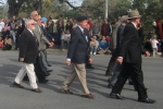 ANZAC Day Adelaide (25Apr2014) CMF Observers Vietnam Geoff Attenborough rear rank 2nd from Left