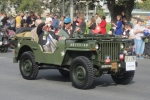 ANZAC Day Adelaide (25Apr2014) 2-43 Bn in Jeep