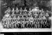 Officers of the 10th Battalion 1st AIF 1914 at Morphettville (2)