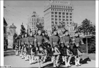 27th Bn (South Australia Militia) marching into grounds of Government House 1939